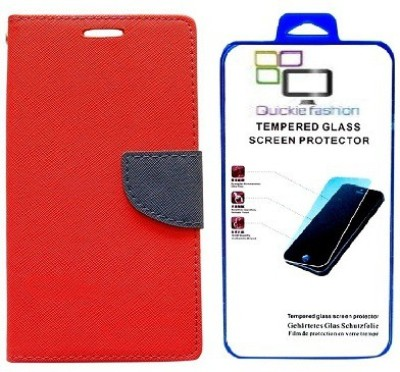 Quickie Fashion Cover Accessory Combo for Micromax Canvas Unite A092(Red)