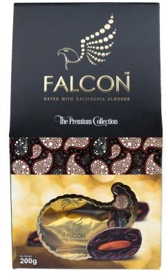 Falcon Almonds Multi-piece Dates(200 g, Box)