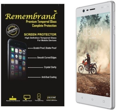 Remembrand Tempered Glass Guard for Nokia 3(Pack of 1)