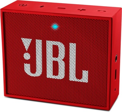 JBL GO PORTABLE MINI BLUETOOTH SPEAKER 3 W Portable Bluetooth  Speaker(Red, Mono Channel)