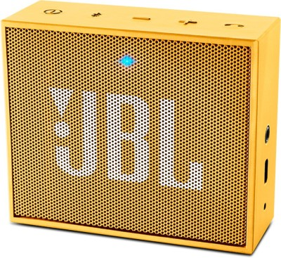 JBL GO PORTABLE MINI BLUETOOTH SPEAKER 3 W Portable Bluetooth  Speaker(Yellow, Mono Channel)