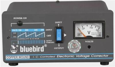 Bluebird BR0515C VOLTAGE STABALIZER Black