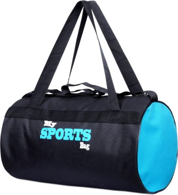 Avigo Aquamarine Duffle Gym Bag(Black, Blue)  available at flipkart for Rs.249