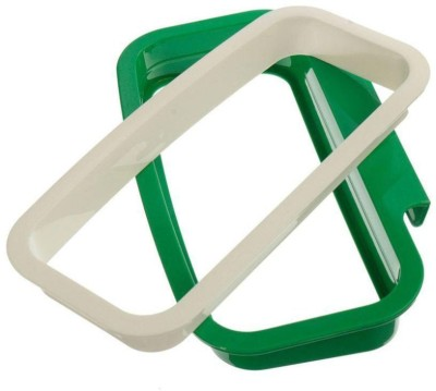 xeekart Garbage Bag Holder Dustbin With Side Clips For Better Grip, For Kitchen use, Office, Clincs, Schools Medium 1 L Garbage Bag  available at flipkart for Rs.179