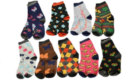 RR Accessories Women Ankle Length Socks(Pack of 9)