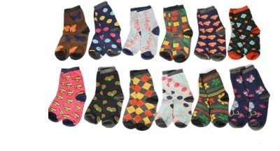 RR Accessories Women Ankle Length Socks(Pack of 12)