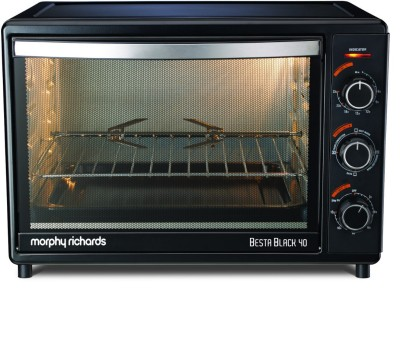 Morphy Richards Besta Black 40 Lts Oven Toaster Grill Black