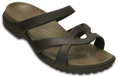 Crocs Women Espresso/Walnut Clogs at flipkart