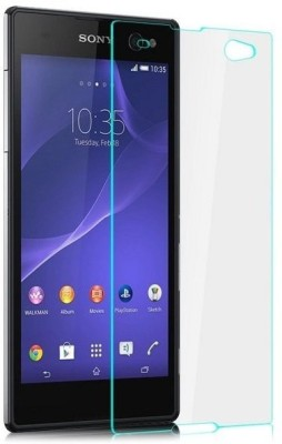 Case Creation Tempered Glass Guard for Sony Xperia C3(Pack of 1)