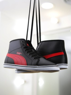 Puma Elsu v2 Mid SL IDP Sneakers For Men(Black) at flipkart