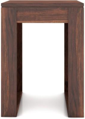 Urban Ladder Epsilon Solid Wood Side Table(Finish Color - Teak)