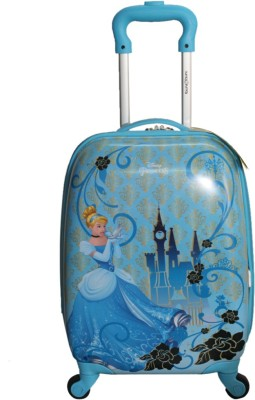 TRAVELLER CHOICE princess cindrela blue17 Cabin Luggage   17 inch TRAVELLER CHOICE Suitcases