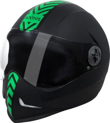 Steelbird SB 50 Adonis Dashing Motorbike Helmet(Black)  available at flipkart for Rs.800