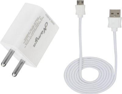 NAMYA 2A. FAST CHARGER  SYNC/DATA CABLE FOR N__KIA L 800 1 A Mobile Charger with Detachable Cable White