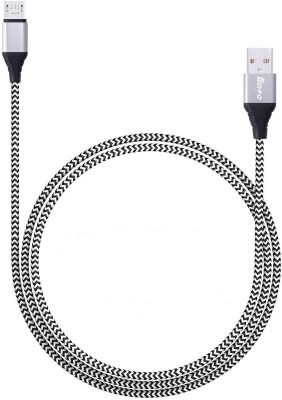 Bingo CB ADR03 Universal USB A to Micro USB Fast Charge and Sync Data Transfer 2.4 Amp Nylon Braided USB 2 m Lightning Cable Compatible with Charging,