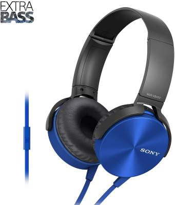 Sony XB450 Wired Headset with Mic