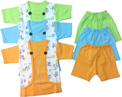 Desi Weaver Baby Boys & Baby Girls Casual Shorts Shorts(Multicolor)