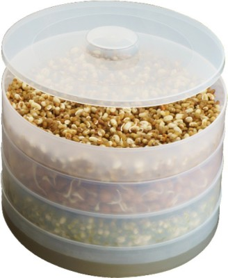 Nestwell Sprout Maker  - 500 ml Plastic Grocery Container(Multicolor)  available at flipkart for Rs.280