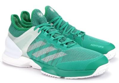 Adidas ADIZERO UBERSONIC 2 CLAY Tennis Shoes(Green) at flipkart