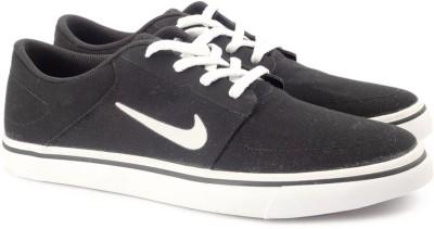 Nike SB PORTMORE CNVS Sneakers For Men(Black) 1
