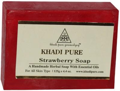 Khadi Pure Strawberry Soap 125 GM