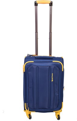 PRAGEE EXCLUSIVE STYLISH BLUE CABIN TROLLEY BAG Cabin Luggage   20 inch PRAGEE Suitcases
