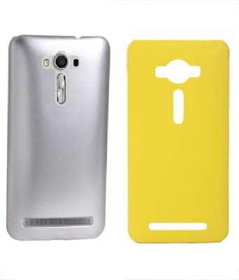 COVERBLACK Back Cover for Asus Zenfone 3 Max ZC553KL (5.5 Inches)(Silver, Yellow, Plastic)
