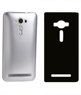 COVERBLACK Back Cover for Asus Zenfone 3 Max ZC553KL (5.5 Inches)(Silver, Black, Plastic)