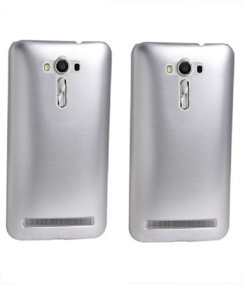 Coverage Back Cover for Asus Zenfone 3 Laser ZC551KL (5.5 Inches)(Silver, Silver, Plastic)