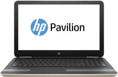 HP Pavilion Core i7 6th Gen - (4 GB 1 TB HDD Windows 10 Home 4 GB Graphics) 15-AU020TX Notebook(15.6 inch Gold 2.0 kg)