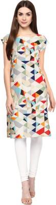 AIS Always In Style Women Printed Straight Kurta(Multicolor)