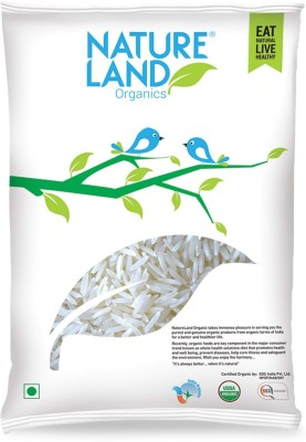 NatureLand ORGANIC Basmati Rice(Long Grain, 1 kg)