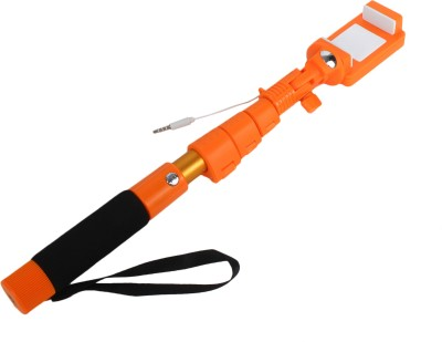 Jabox Cable Selfie Stick(Orange) Flipkart