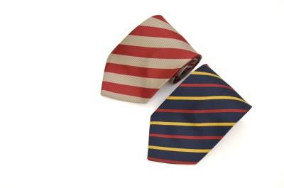 Sakshi International Striped Tie(Pack of 2)