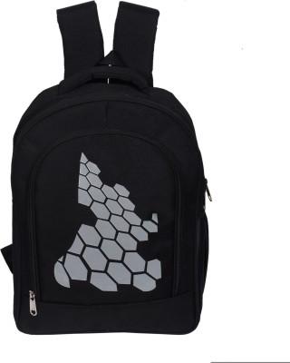Lapaya Waterproof School Bag(Black, 20 L)