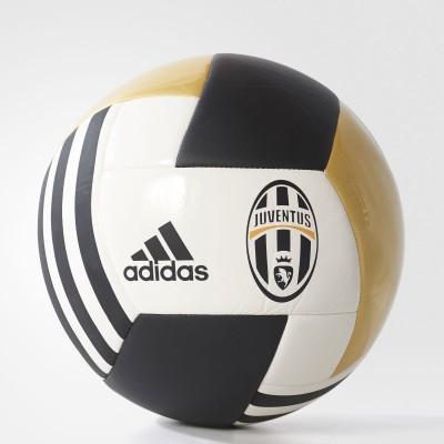 ADIDAS Juventus FBL Football - Size: 5(Pack of 1, White, Black, Gold)