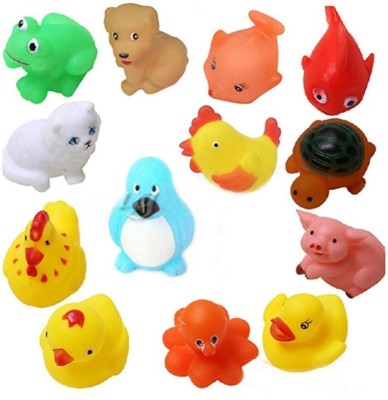 PRESENTSALE colorful cute animal Swimming Water toy for small beby Bath Toy(Multicolor)