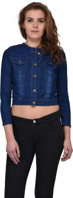 style souk Full Sleeve Solid Women Denim Jacket