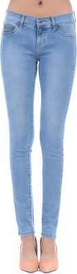 Pepe Jeans Slim Women Blue Jeans at flipkart