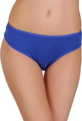 FEMULA Women Hipster Blue, Black Panty(Pack of 2)