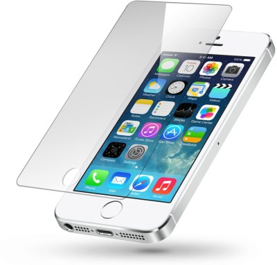 Case Creation Tempered Glass Guard for Apple Iphone 5 5S 5SE 5G 5C(Pack of 1)