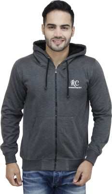 Christy World Full Sleeve Solid Men's Sweatshirt at flipkart