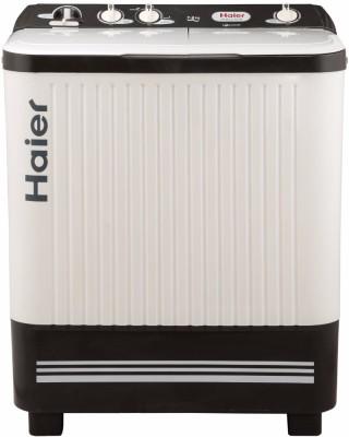 Haier 7.2 kg Semi Automatic Top Load Washing Machine White, Grey(HTW72-187S)