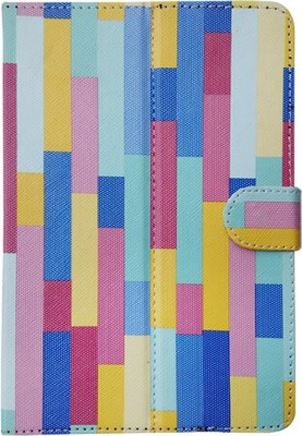 Fastway Book Cover for Alcatel One Touch Evo 7(Blue, Black)