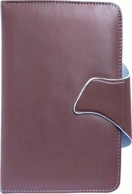 Fastway Book Cover for Xolo Play Tab 7.0 XTW800(Brown, Artificial Leather)