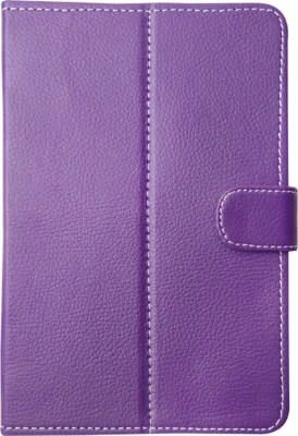 Fastway Book Cover for Micromax Canvas Tablet P290 7 inch(Purple, Cases with Holder)