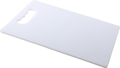 Tranduious Vgetable Cutting Board/Unbreakable Plastic Cutting Board(White Pack of 1) at flipkart