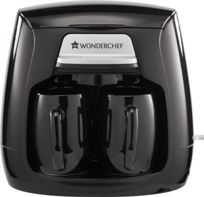 Wonderchef 63152278 1 Cups Coffee Maker(Black)