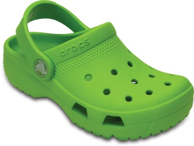 Crocs Boys & Girls Slip-on Clogs(Green)