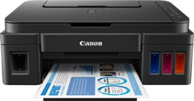 Canon G2002 Multi-function Printer(Black, Refillable Ink Tank)